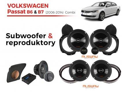 Volkswagen Passat B7 musway combi