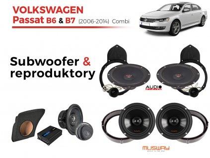 Volkswagen Passat B7 audio combi