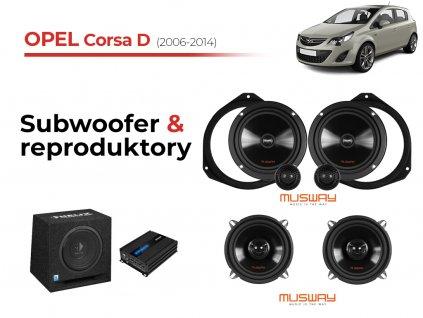 Opel Corsa D msw komplet