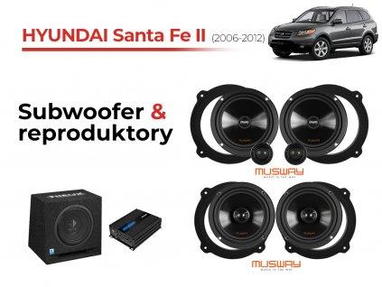 Hyundai Santa fe II musway komplet