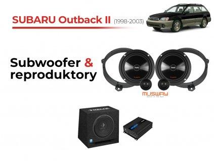 Subaru Outback II msw komplet