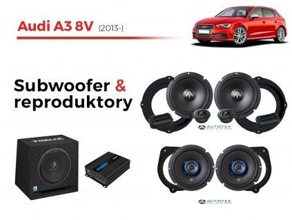 Audi A3 8V autotek komplet