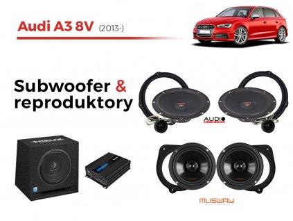 Audi A3 8V audio komplet