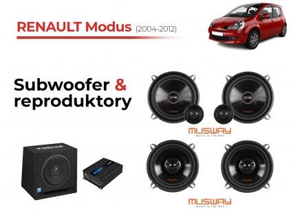 Renault Modus msw komplet
