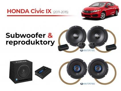 Honda Civic IX autotek komplet