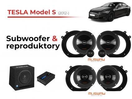 Tesla model S msw komplet