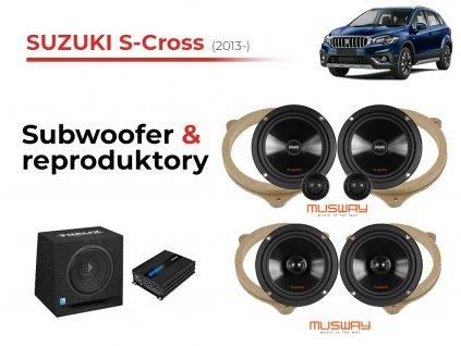 Suzuki S Cross msw komplet