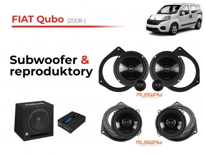 Fiat Qubo musway komplet