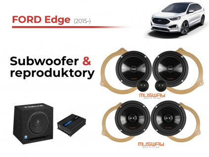 Ford Edge musway komplet
