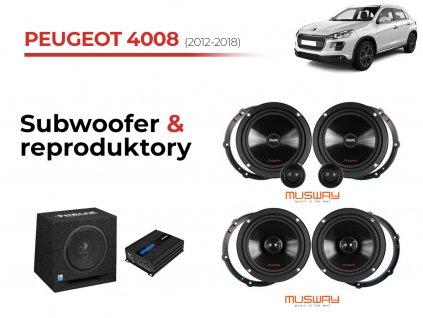 Peugeot 4008 msw komplet