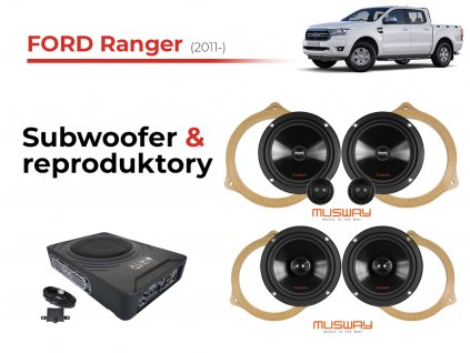 Ford Ranger musway komplet