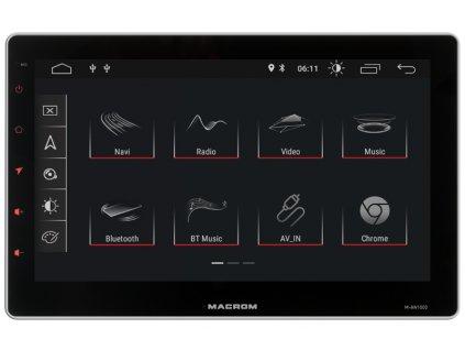 Android autorádio MACROM M-AN1000