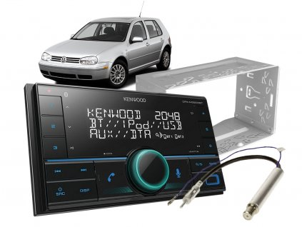 autoradio kenwood set golf IV