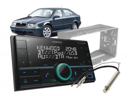 autoradio kenwood set skoda octavia 1