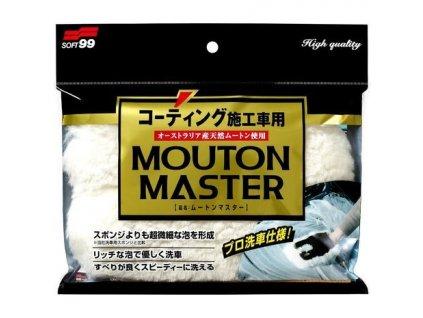 Soft99 Car Wash Glove Mouton Master jednostranná mycí rukavice z ovčí vlny