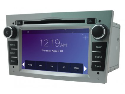 97528 12 autoradio geborn gb8820s stribrne
