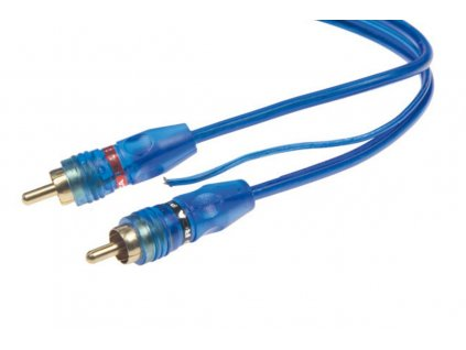 98680 rca y audio kabel blue basic line 1xsamice 2xsamec