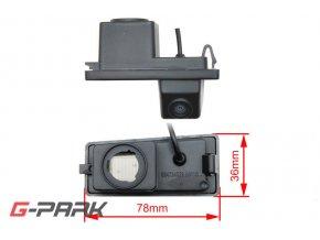 CCD parkovací kamera SsangYong Rexton II / Kyron