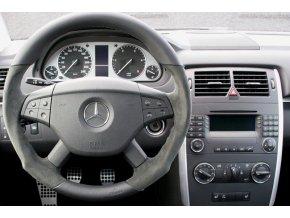 Rámeček autorádia 2DIN - Mercedes UNI2