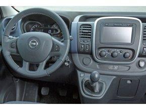 Rámeček autorádia 2DIN - Opel Vivaro / Renault Trafic