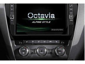 Navigační systém Alpine pro Škoda Octavia III