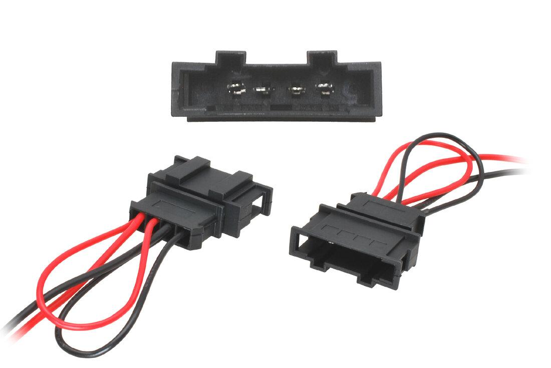 Adaptéry k reproduktorovému konektoru Seat, Škoda, VW
