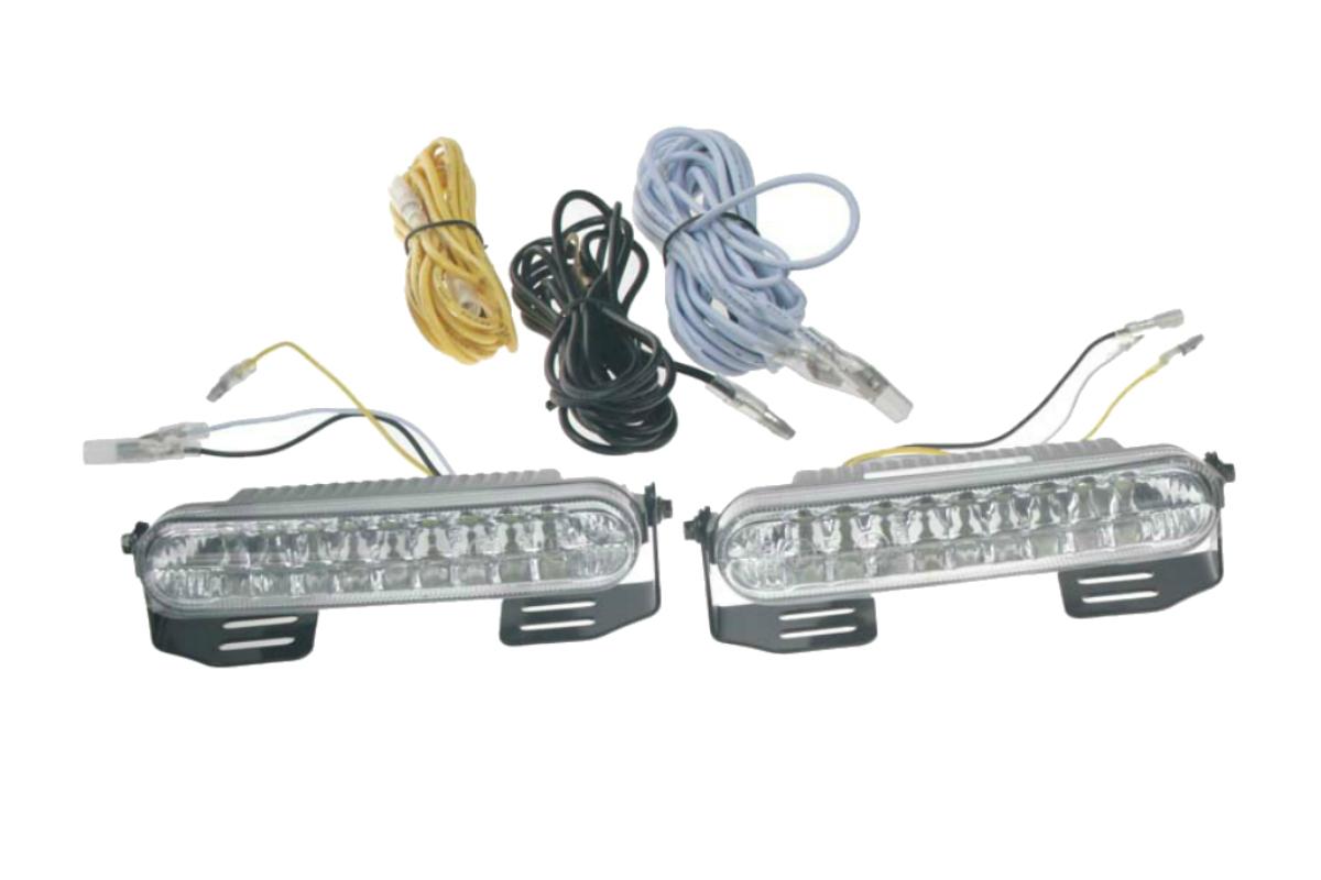 LED světla pro denní svícení, 120x24mm
