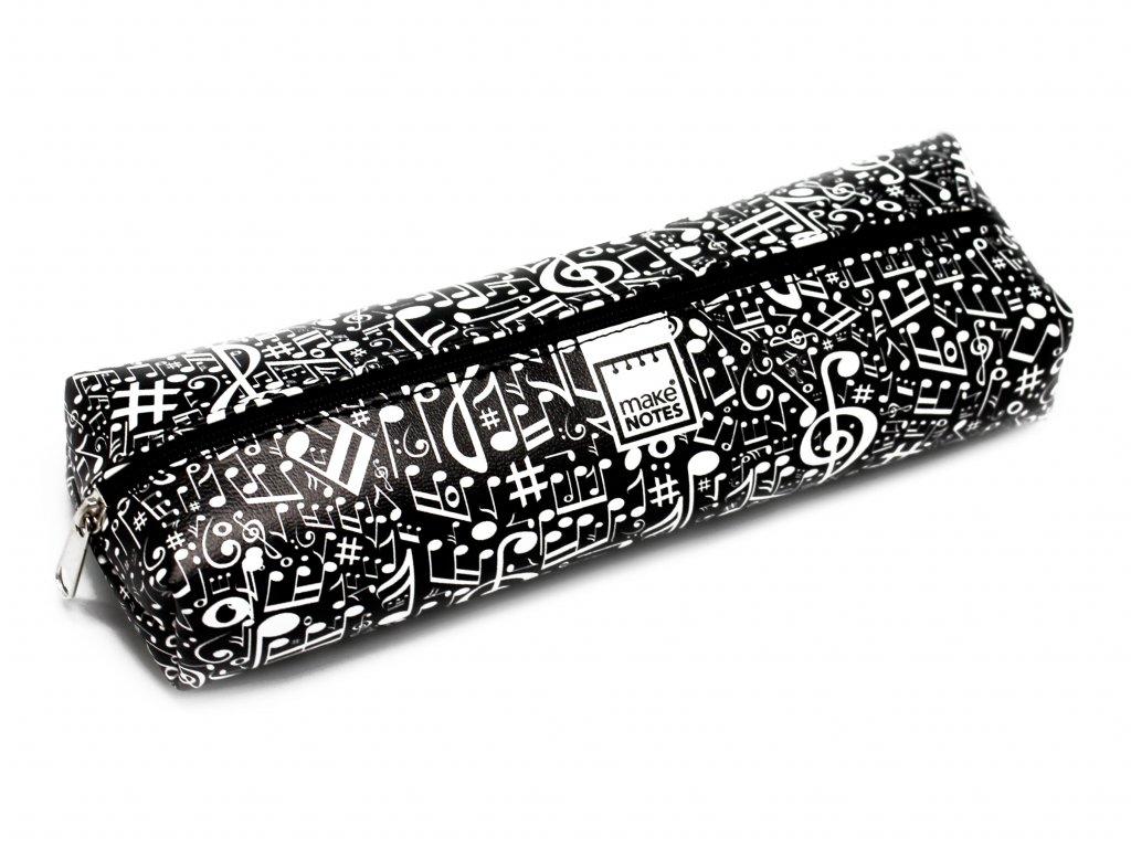 Pouzdro na tužky MUSIC černé - 2J2K.CZ a1df4271dd