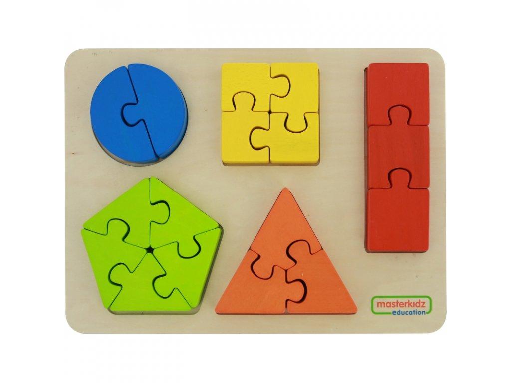 Geometrické puzzle 3