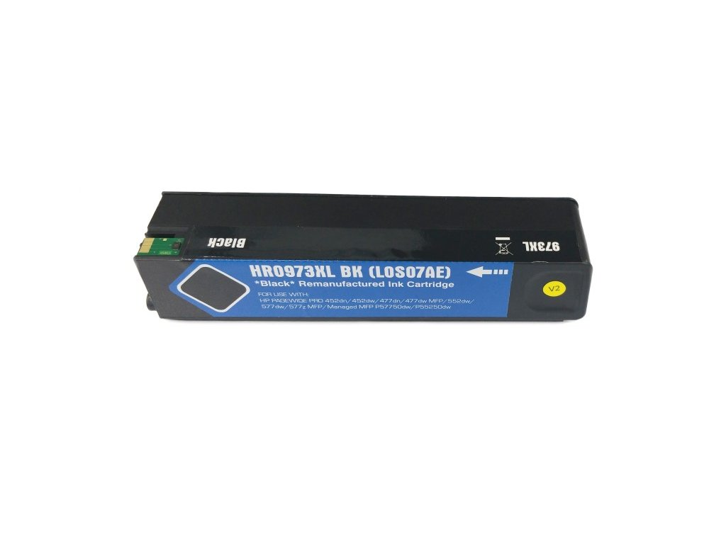 Inkoustová kazeta - HP L0S07AE (973X) - black - renovovaná