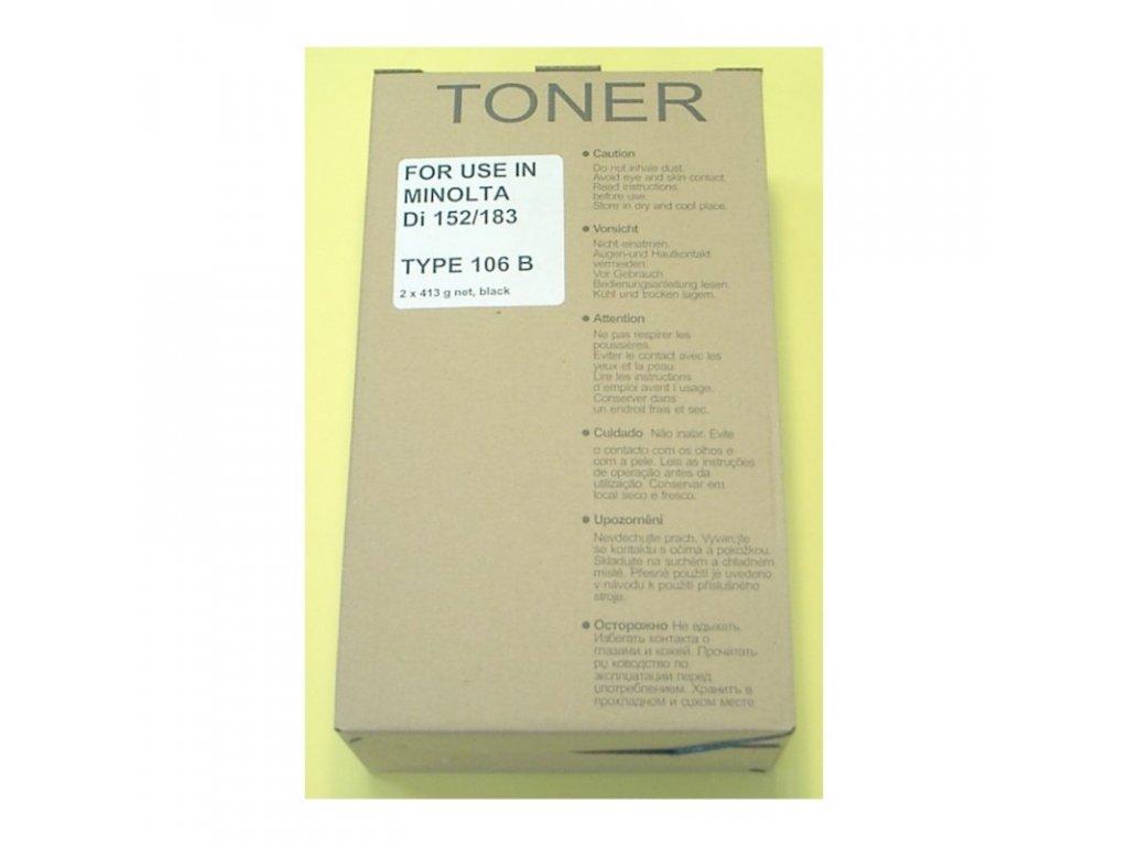 Tonerová kazeta - KONICA MINOLTA 106 B / TN-114 - kompatibilní