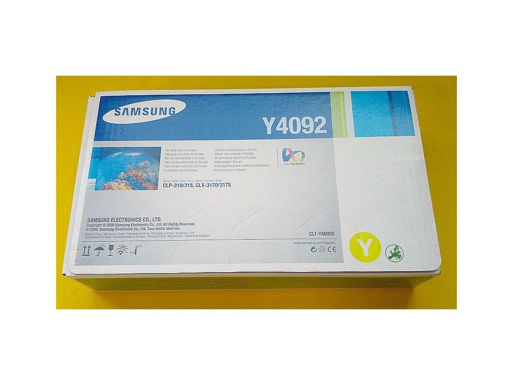 Tonerová kazeta - yellow - SAMSUNG CLT-Y4092S - originál