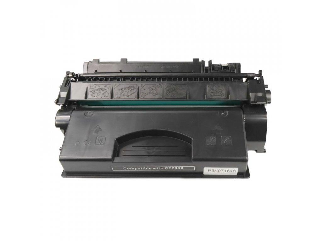 Tonerová kazeta - HP CF280X (80X) - kompatibilní