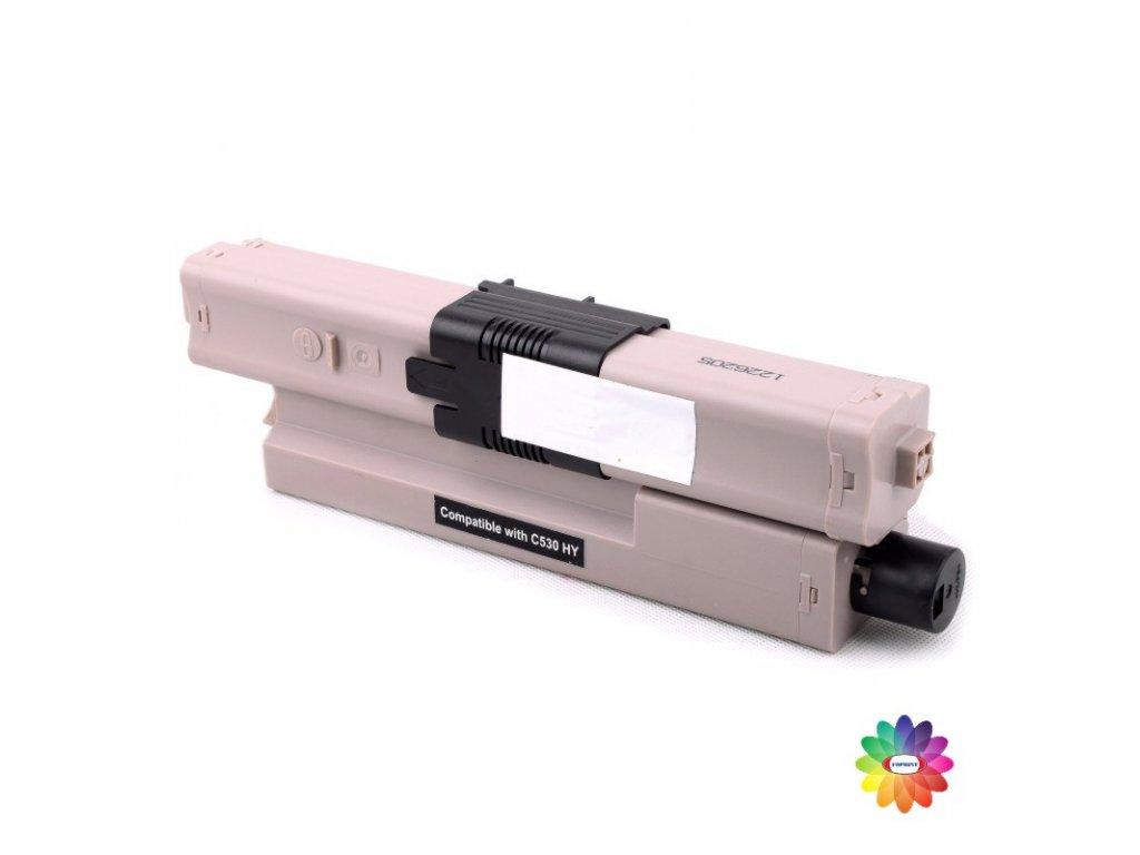 Tonerová kazeta - OKI 44973508 - black - kompatibilní