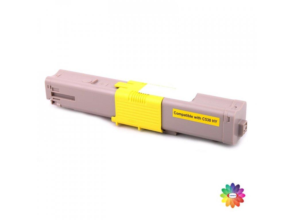 Tonerová kazeta - OKI 44469722 - yellow - kompatibilní