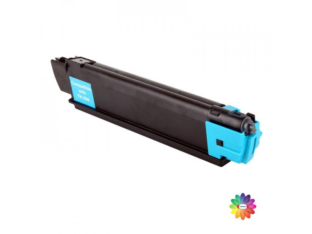 Tonerová kazeta - KYOCERA TK 590C - cyan - kompatibilní