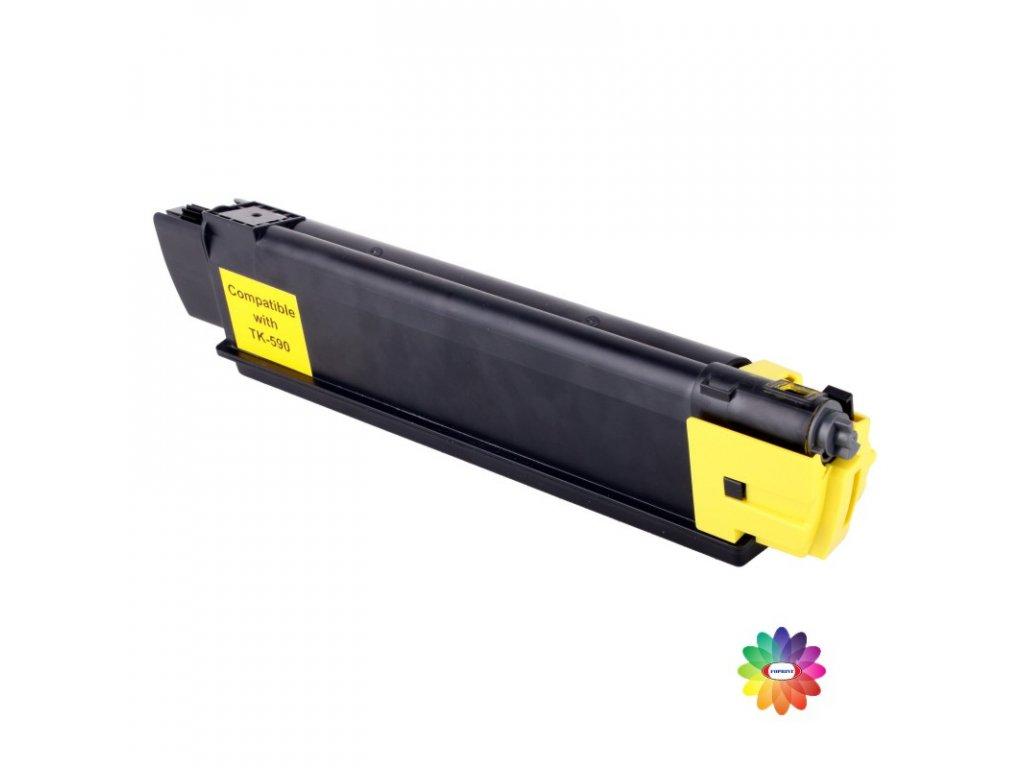 Tonerová kazeta - KYOCERA TK 590Y - yellow - kompatibilní