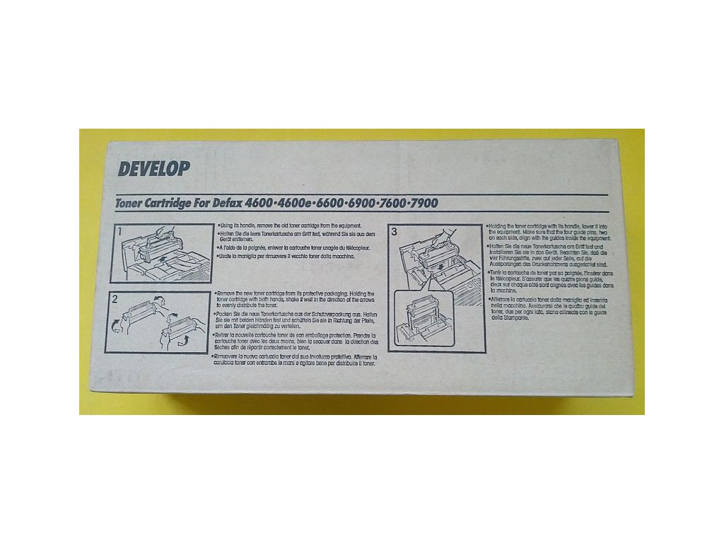 Tonerová kazeta - DEVELOP 4600 - originál