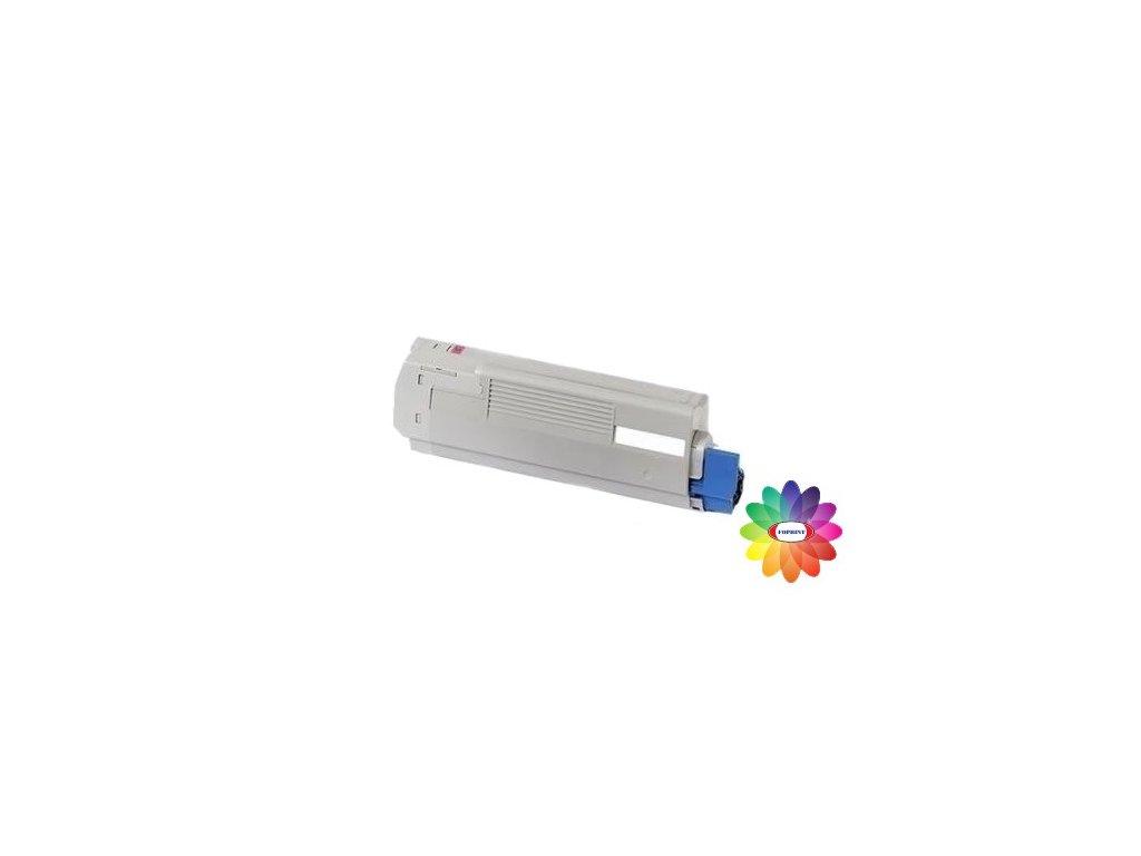 Tonerová kazeta - magenta - OKI 43865722 - kompatibilní
