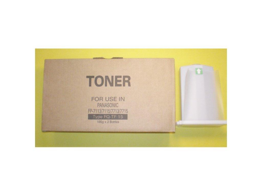Tonerová kazeta - PANASONIC FQ-TF 15 - kompatibilní