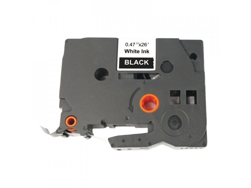 Páska pro popisovače BROTHER - typ TZE-335 - 12 mm černá - bílý tisk - kompatibilní