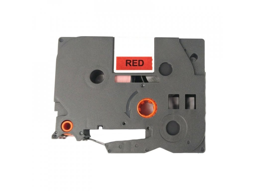 Páska pro popisovače BROTHER - typ TZE-451 - 24 mm červená - černý tisk - kompatibilní