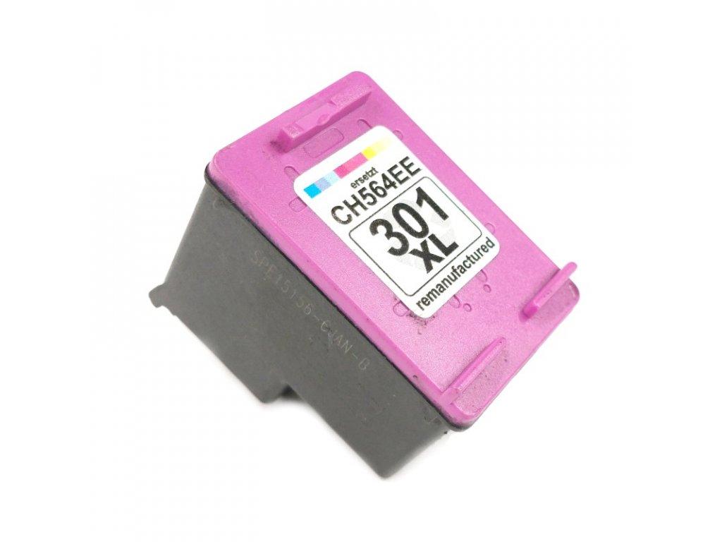 Inkoustová kazeta - HP CH564EE(301XL) - color - renovovaná