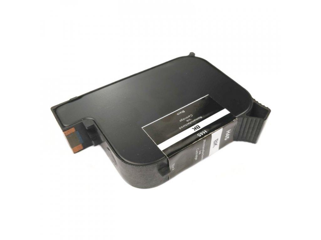 Inkoustová kazeta - HP 51645 (45) - black - renovovaná