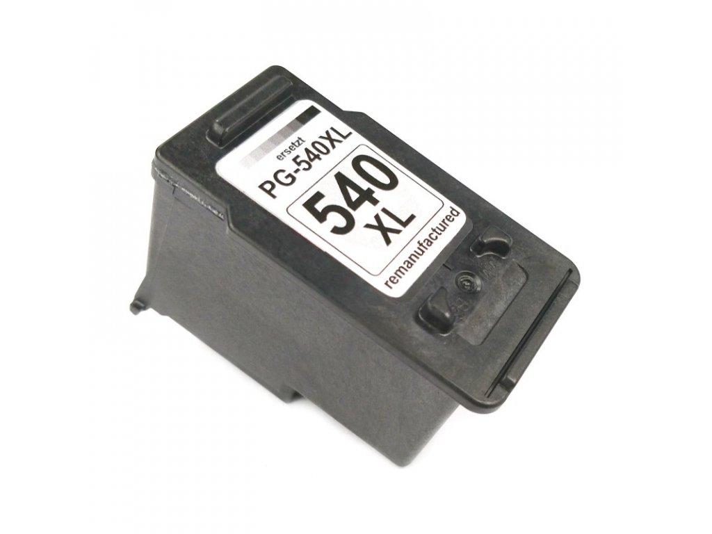 Inkoustová kazeta - CANON PG-540XL - black - renovovaná