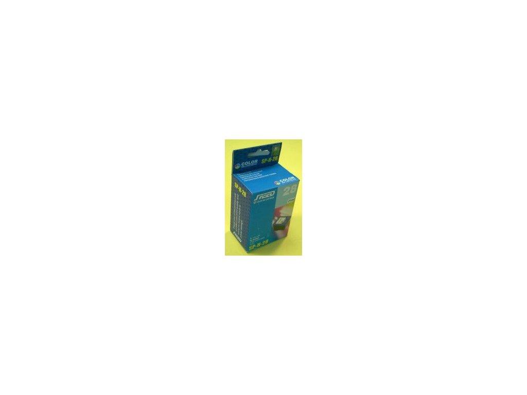 Inkoustová kazeta - HP C8728 (28) - color - renovovaná