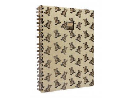 Zápisník A4 BEAR