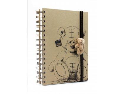 Zápisník A6 motiv a figurka BEAR