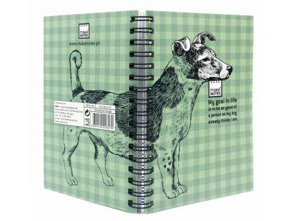 Zápisník A6 3 DOGS