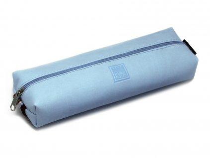 Pouzdro na tužky CLOUDY BLUE s elastickou gumičkou